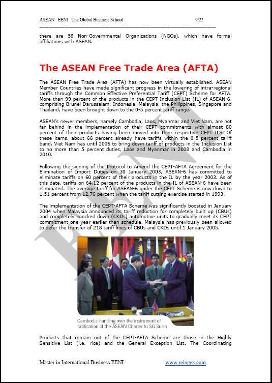 Güneydoğu Asya Uluslar Birliği ASEAN